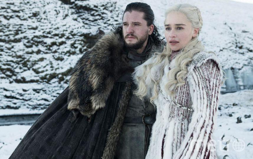 Кит Харингтон (Джон Сноу) и Эмилия Кларк (Дейенерис Таргариен). Фото HBO