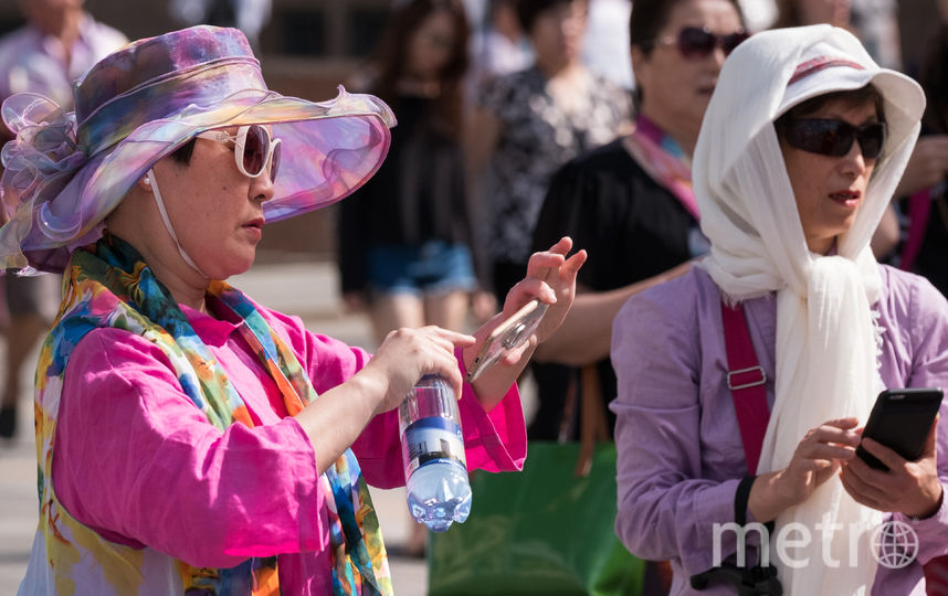 Москвичей в последнюю рабочую неделю весны ждёт жаркая погода. Фото AFP