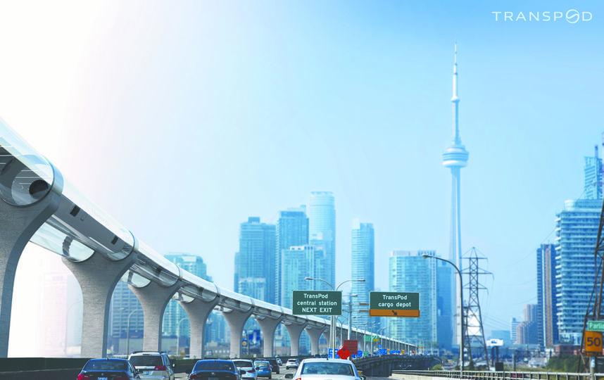 Проект для канадского Торонто. Фото Transpod