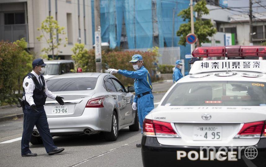 Фотографии с места резни в Кавасаки. Фото AFP