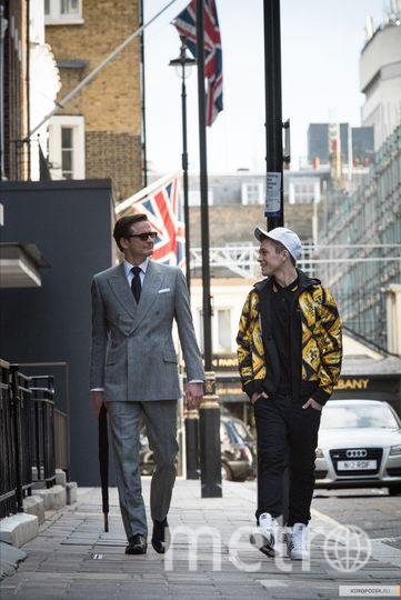"""Фёрт и Эджертон в образе своих героев. Фото """"Двадцатый Век Фокс СНГ""""."""