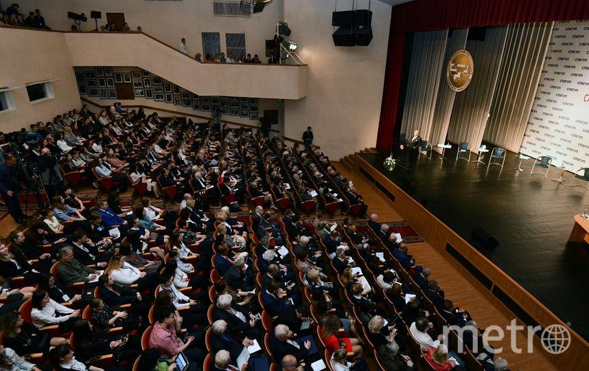 В СПбГУП прошёл самый крупный в мире ежегодный гуманитарный форум. Фото www.gup.ru
