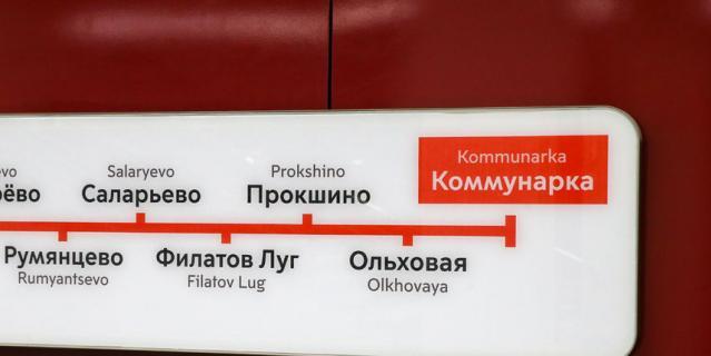 "Станция ""Коммунарка""."
