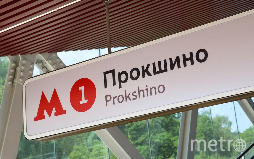 """Станция """"Прокшино"""". Фото Василий Кузьмичёнок"""