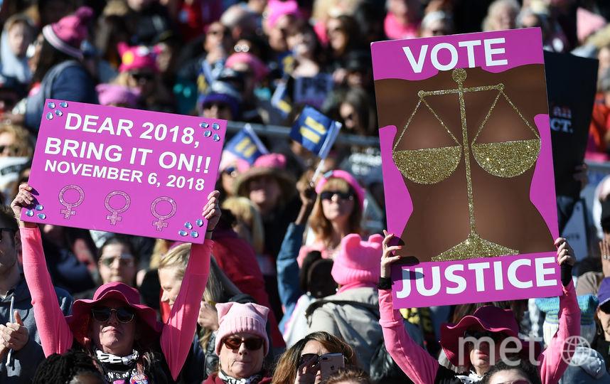 Женщины отстаивают свои права по всему миру. Фото Getty