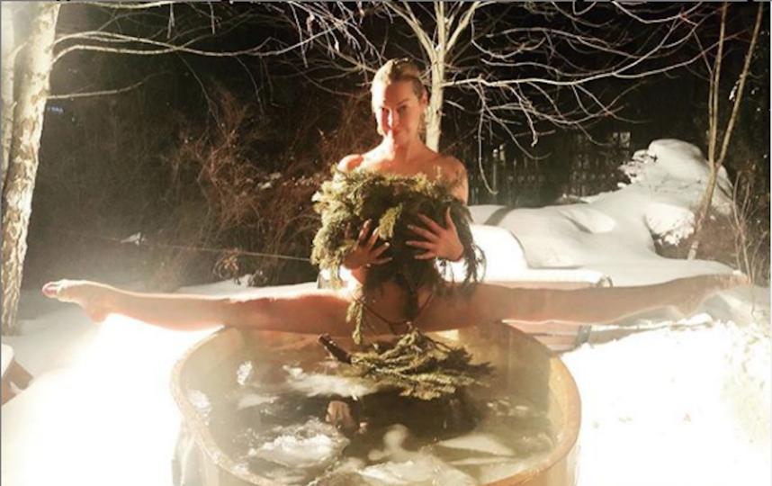 Волочкова. Фото Скриншот Instagram/volochkova_art