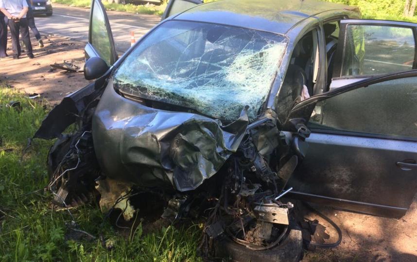 В Ленобласти произошла смертельная авария. Фото https://vk.com/spb_today