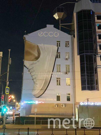 Бренд ECCO присоединился к весеннему украшению Москвы.