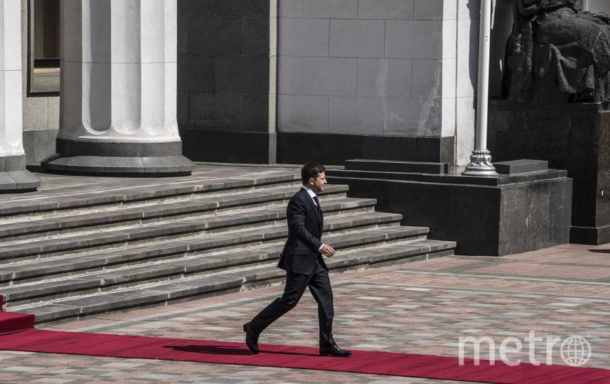 Новый президент Украины Владимир Зеленский. Фото Getty