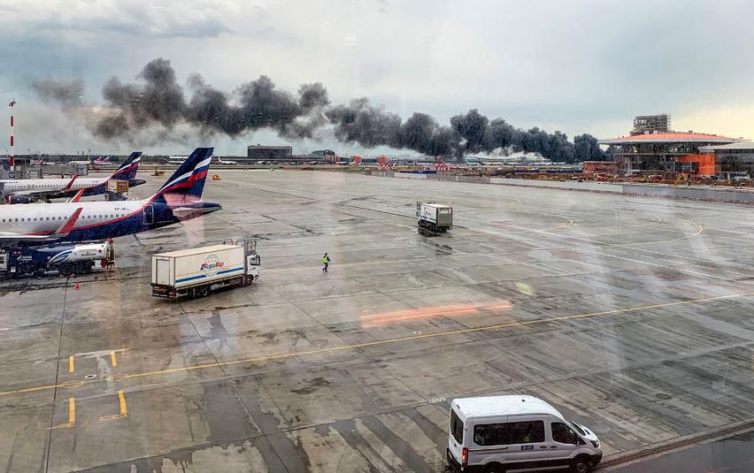 Катастрофа с  Sukhoi Superjet 100 случилась 5 мая. Фото AFP