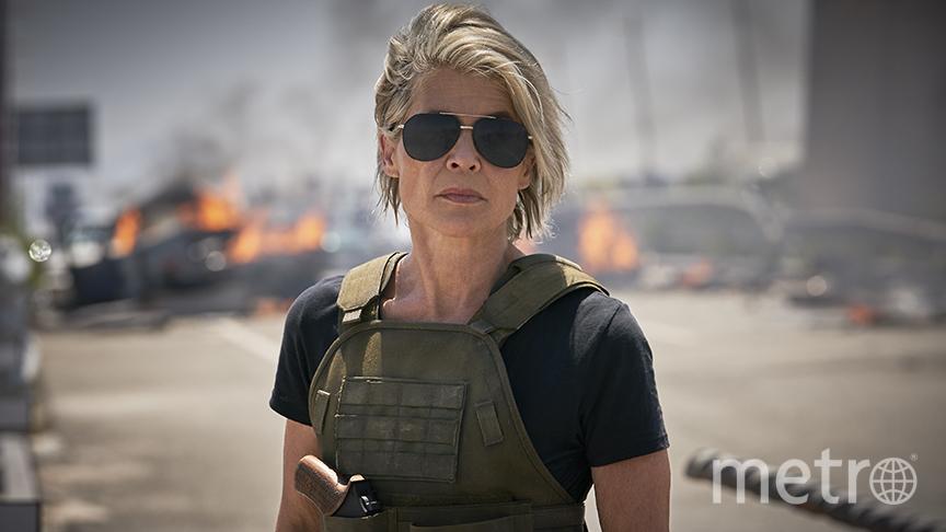 Сара Коннор (Линда Хэмилтон) настроена серьёзно. Фото 20th Сentury Fox