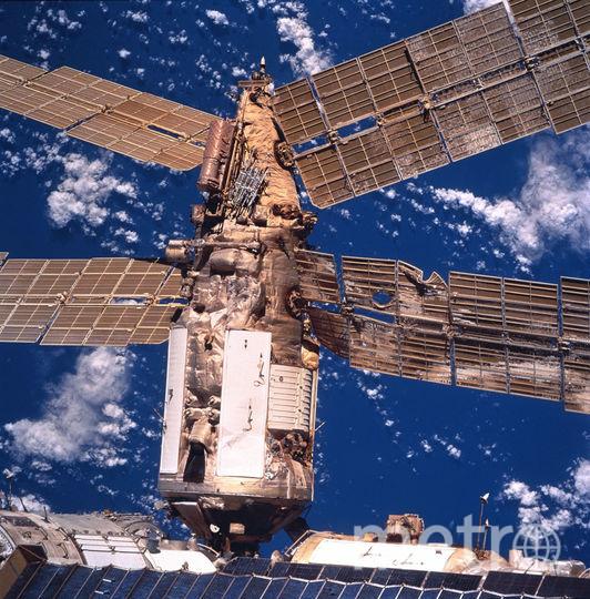 Космическая станция МИР. Фото Getty