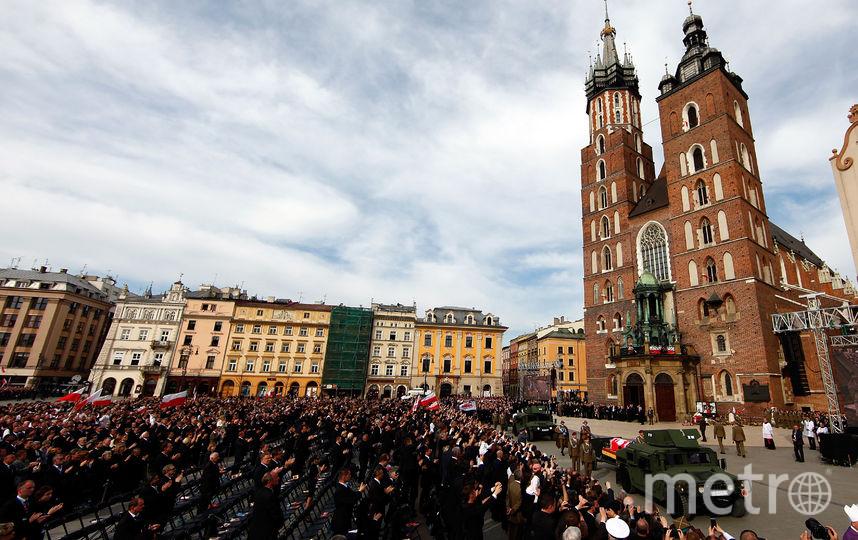 Похороны Леха Качиньского. Фото Getty