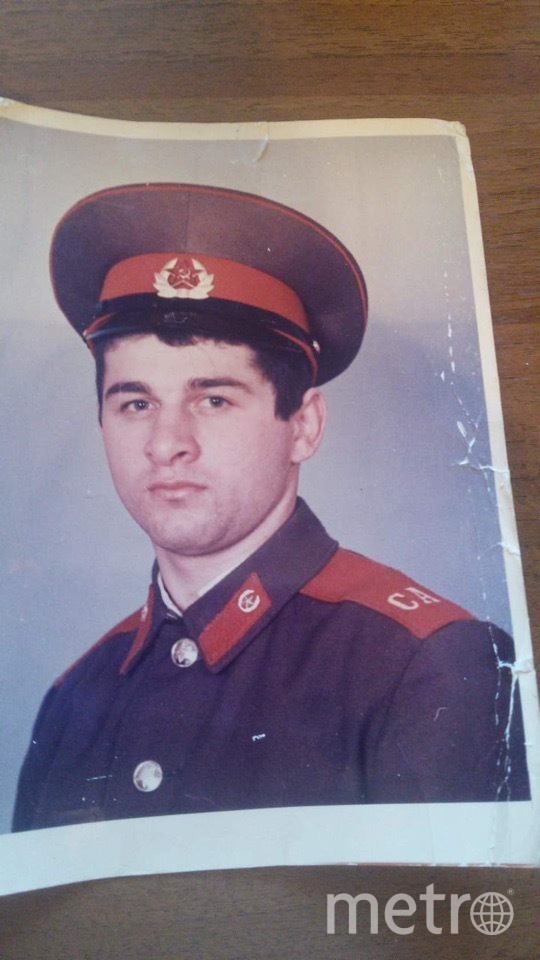 Герой, спасавший людей. Фото предоставила Тамара Бачилава