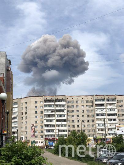 Фото очевидцев с места происшествия. Фото moynn, vk.com
