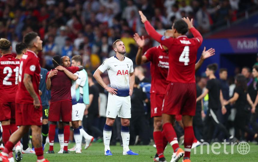 """Ливерпуль"" празднует победу. Фото Getty"