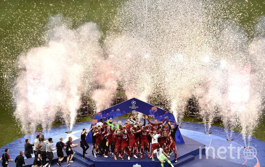 Финал Лиги чемпионов в Мадриде. Фото Getty