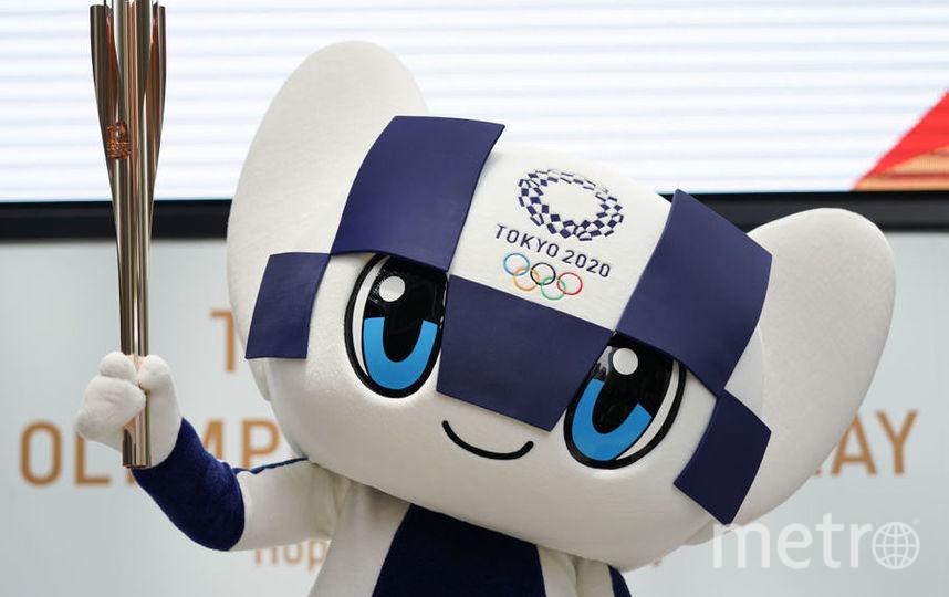 Талисман Олимпиады-2020. Фото Getty