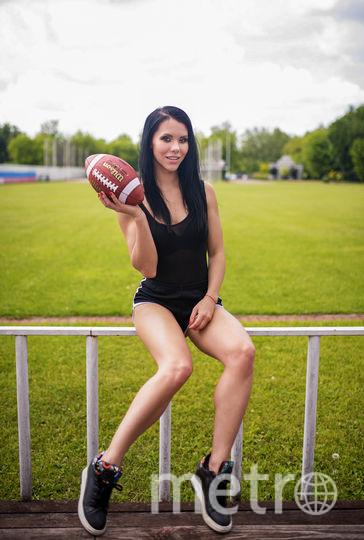 Тамана и американский футбол. Фото Юлия Барбашова