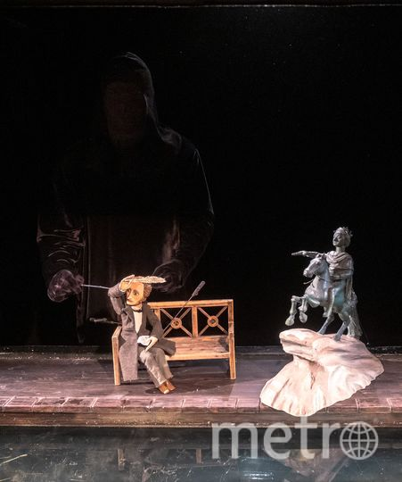 """Часто во время действия актёр должен стать невидимым. Фото Алена Бобрович, """"Metro"""""""