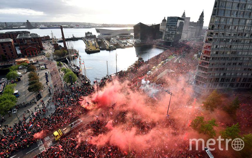 На улицы города вышли 750 тысяч человек. Фото AFP