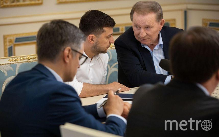 Владимир Зеленский и Леонид Кучма. Фото www.president.gov.ua