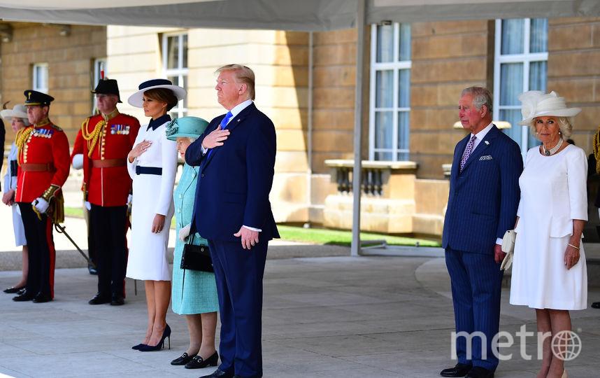 Встреча в Букингемском дворце. Фото Getty