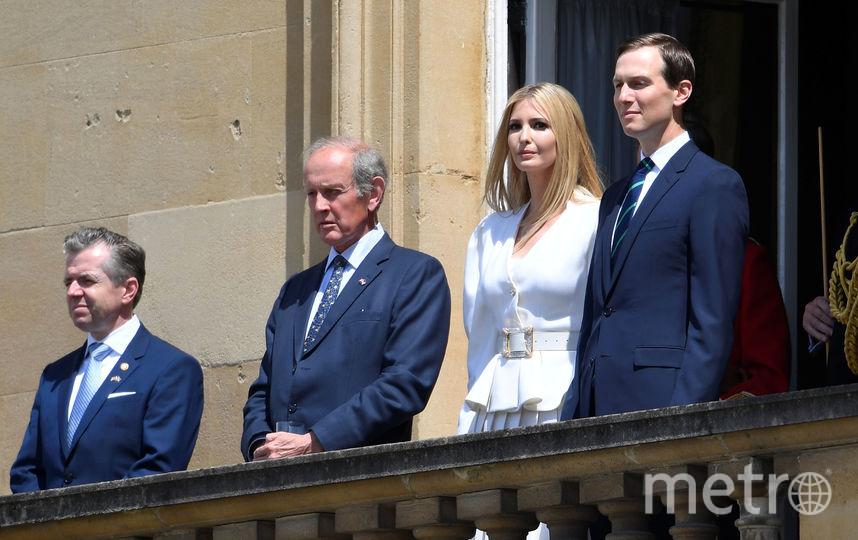 Иванка Трамп и ее супруг Джаред Кушнер (справа). Фото Getty
