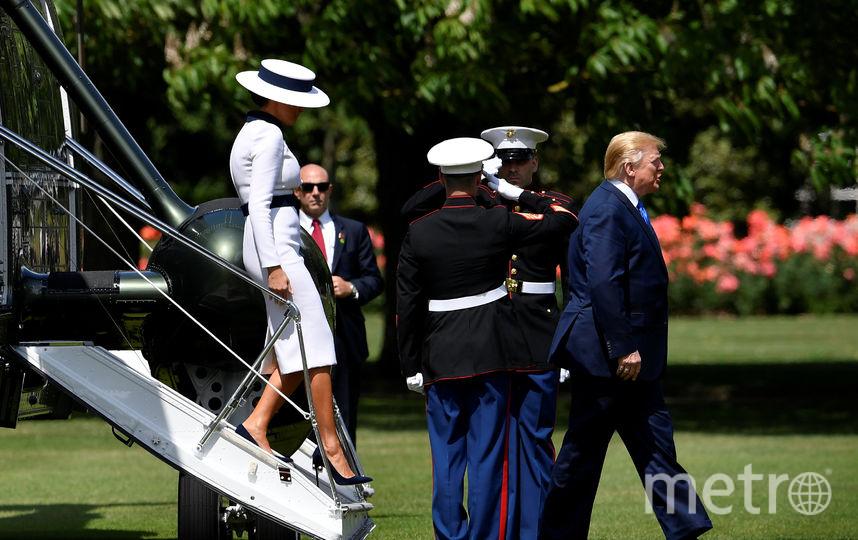 Первый день официального визита Дональда и Мелании Трамп в Великобританию. Фото Getty