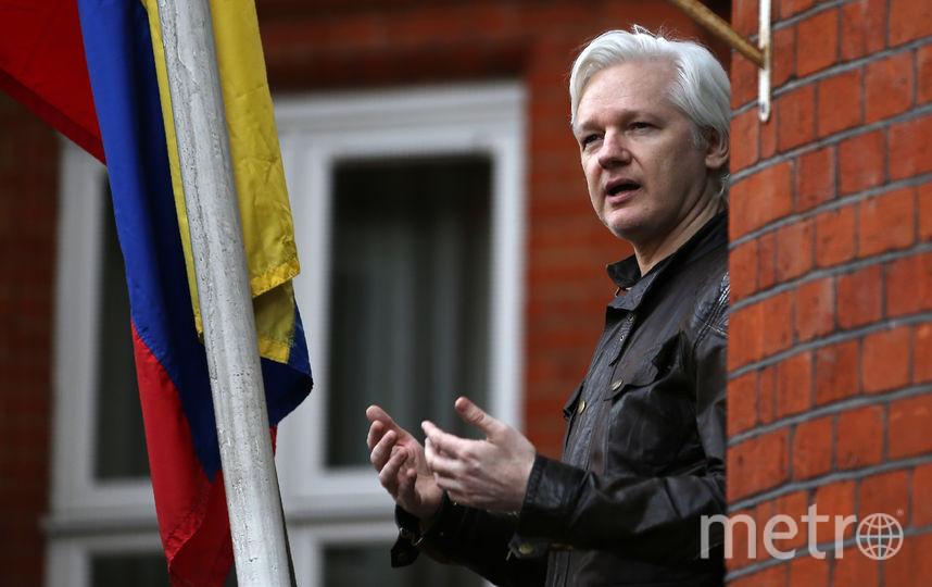 Джулиан Ассанж. Архивное фото. Фото AFP