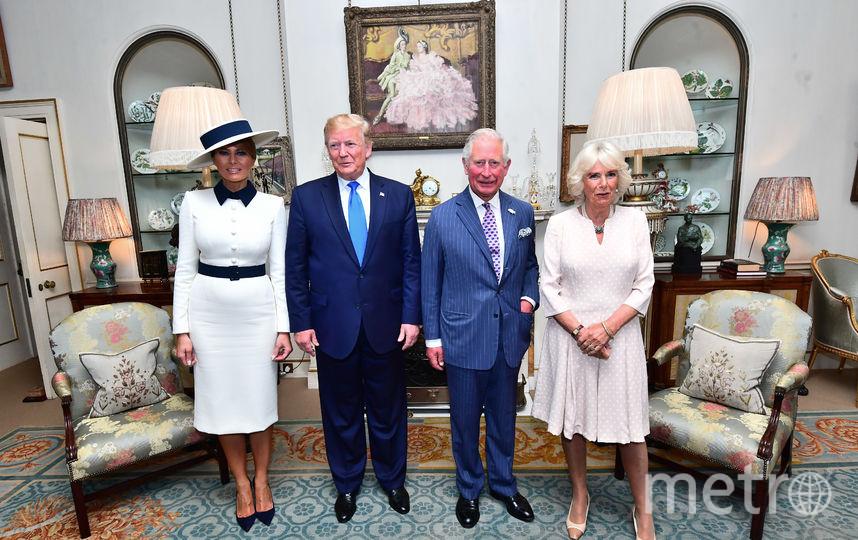 Мелания и Дональд Трамп, принц Чарльз и Камилла Паркер-Боулз. Фото Getty