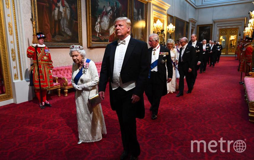 Торжественный ужин в Букингемском дворце. Фото Getty
