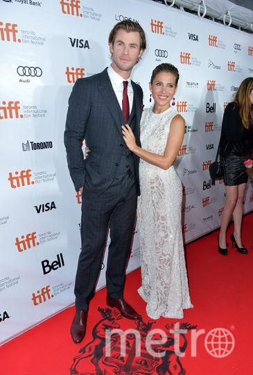 Крис Хемсворт с женой. Фото Getty
