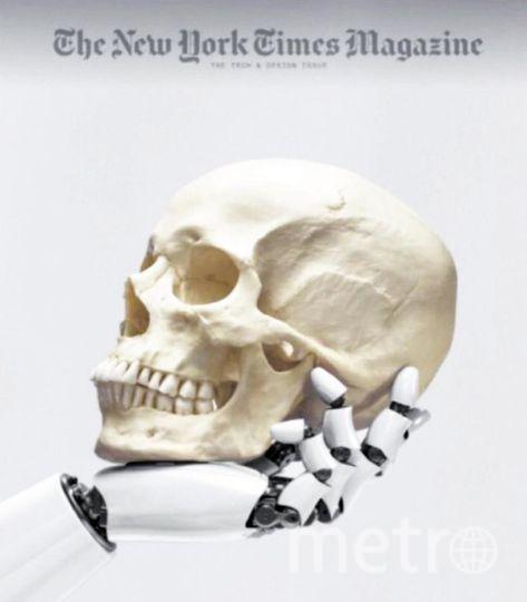 "Обложка журнала New York Times Magazine. Фото ""Metro"""