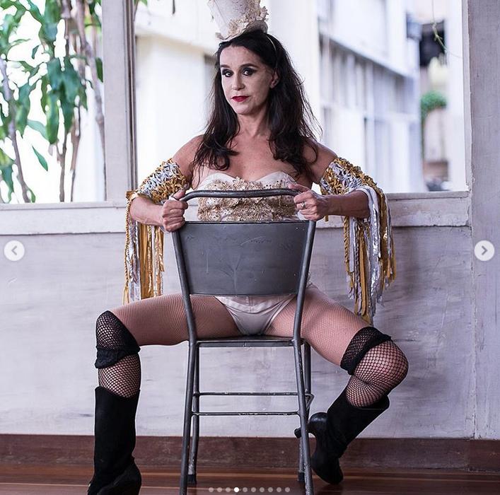 Луселия Сантус, фотоархив. Фото скриншот www.instagram.com/luceliasantosoficial/