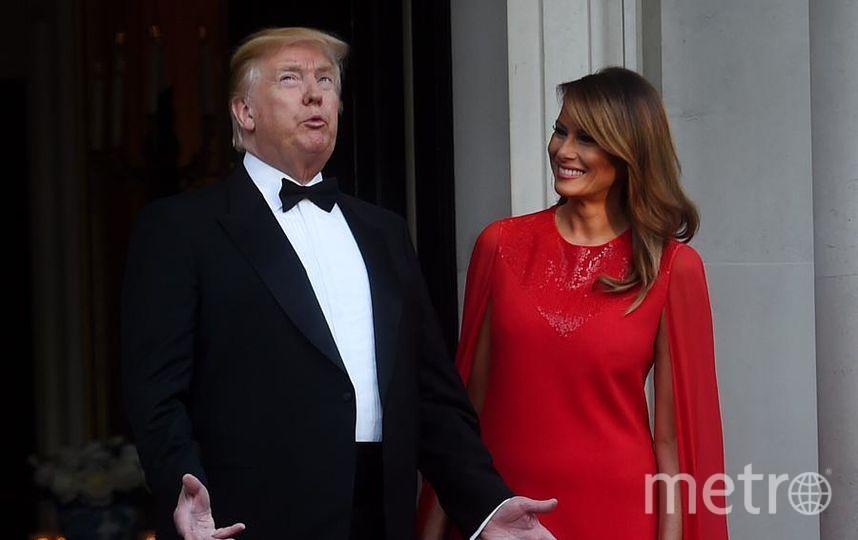 Дональд и Мелания Трамп на ужине с принцем Чарльзом. Фото Getty
