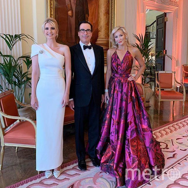 Иванка Трамп на приеме в Уинфилд-Хаус. Фото instagram.com/ivankatrump