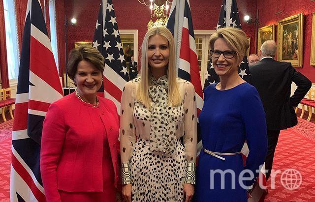 Иванка Трамп в Лондоне. Фото instagram.com/ivankatrump