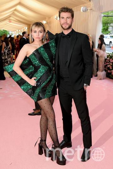 Майли Сайрус и Лиам Хемсворт. Фото Getty