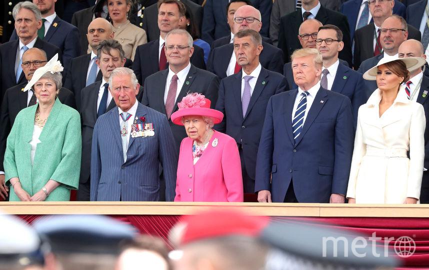 В Портсмуте прошли торжественные мероприятия, приуроченные к 75-летней годовщине высадки союзных войск в Нормандии. Фото Getty