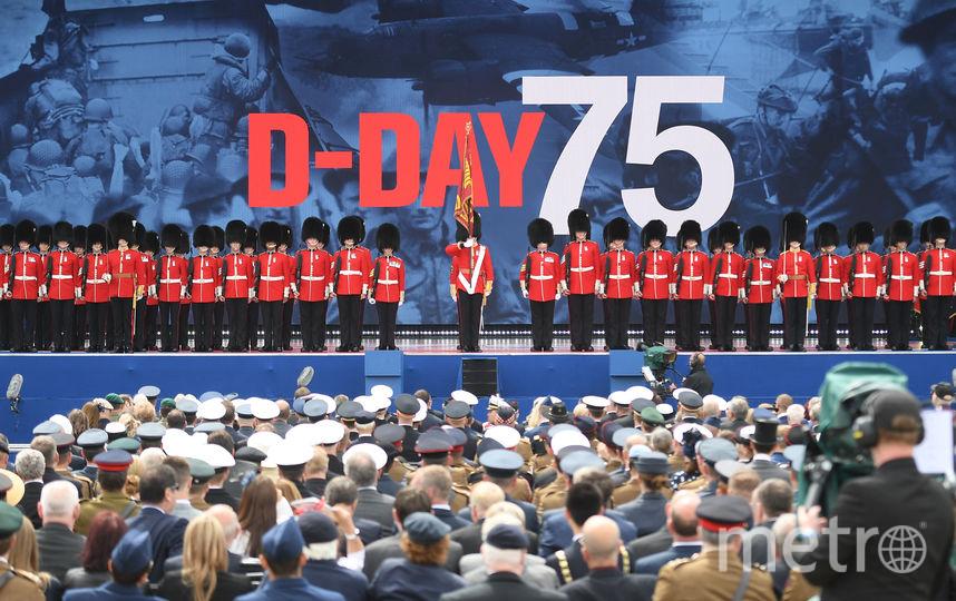 В Портсмуте прошли торжественные мероприятия, приуроченные к 75-летней годовщине высадки союзных войск в Нормандии. Фото AFP