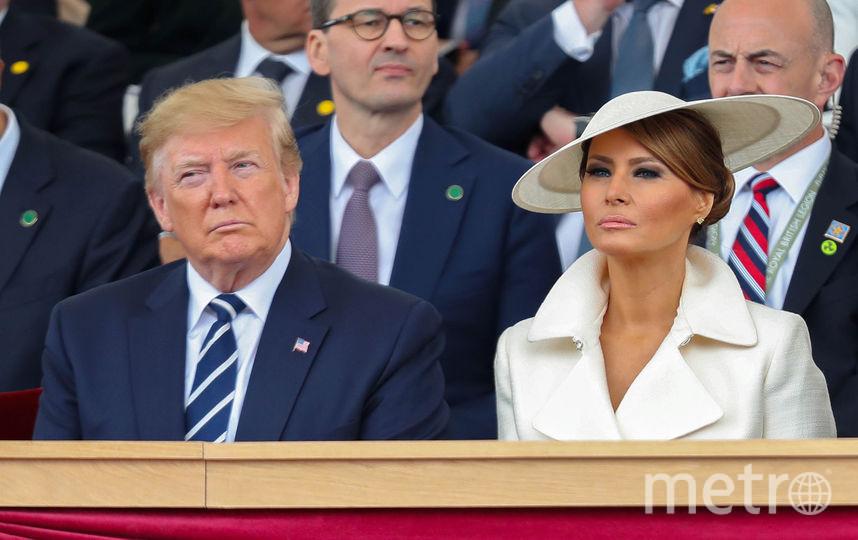 Дональд и Мелаия Трамп. Фото AFP