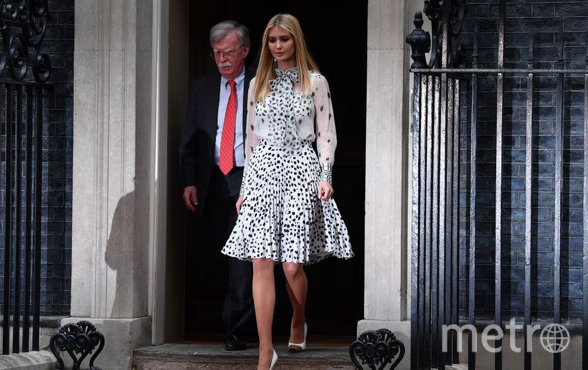 Иванка Трамп во второй второй день визита в Лондон. Фото Getty