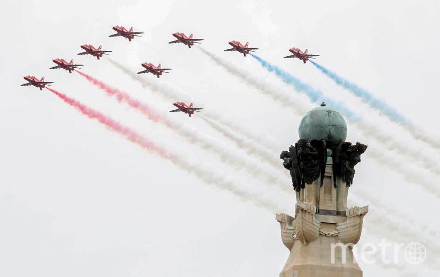 В ходе мероприятия состоялся воздушный парад. Фото AFP