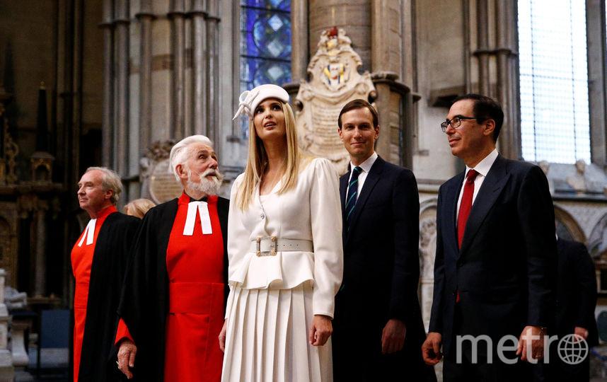 Иванка Трамп в первый день визита в Лондон. Фото Getty