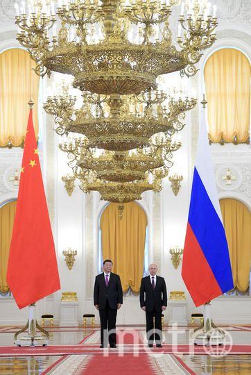 Владимир Путин и Си Цзиньпин. Фото AFP