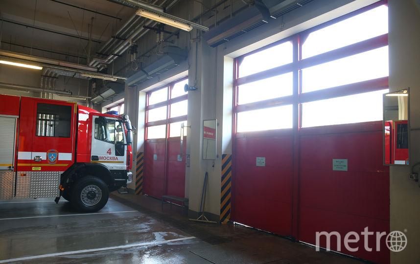 Столичные пожарные всегда готовы к борьбе с огнём. Фото Василий Кузьмичёнок