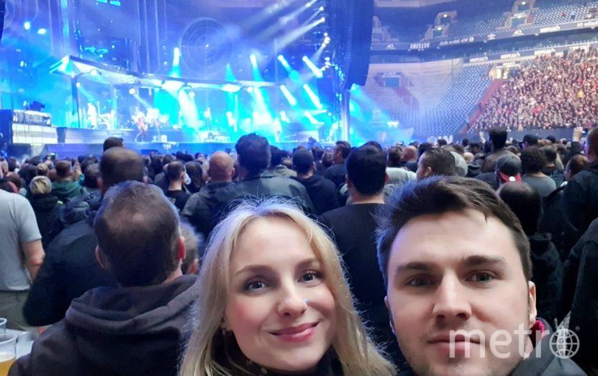 Дарья на концерте. Фото предоставила Дарья Лазовская