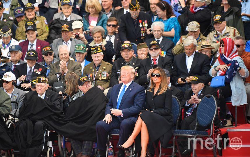 Мелания и Дональд Трамп. Фото AFP