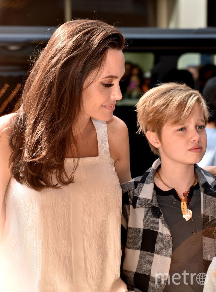 Анджелина Джоли и Шайло. Фото Getty